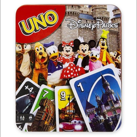 Disney Parks Uno Game